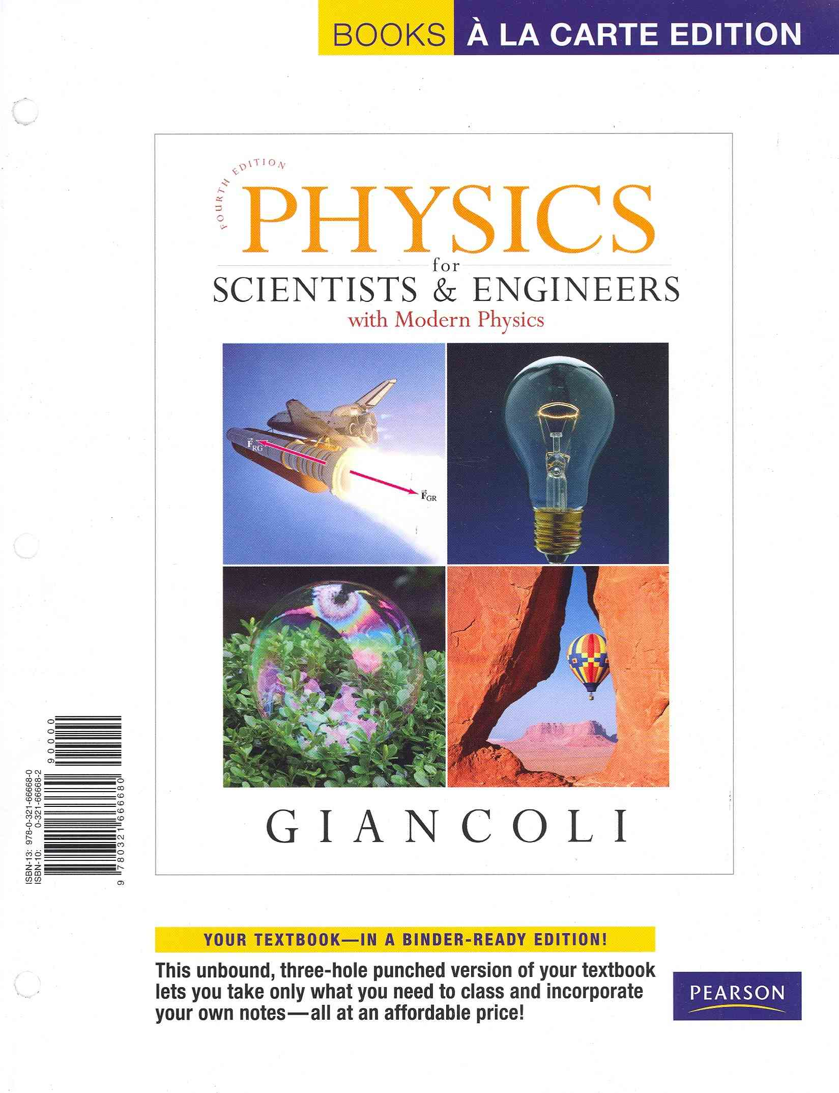Physics for Scientists & Engineers With Modern Physics By Giancoli, Douglas C.
